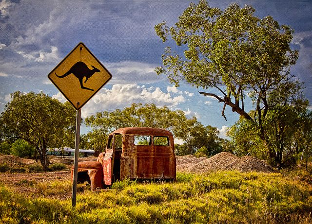 Lightning Ridge, NSW, Australia by aussiegall on Flickr