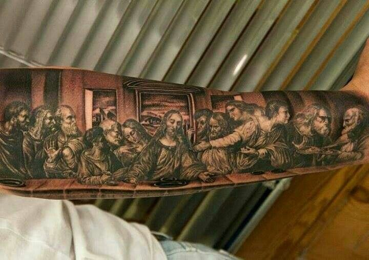 The Last Supper Tattoo Ink Pinterest Suppers The O