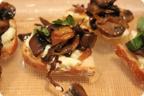 Chanterelle wild mushrooms with marsala glaze and whipped ricotta ...