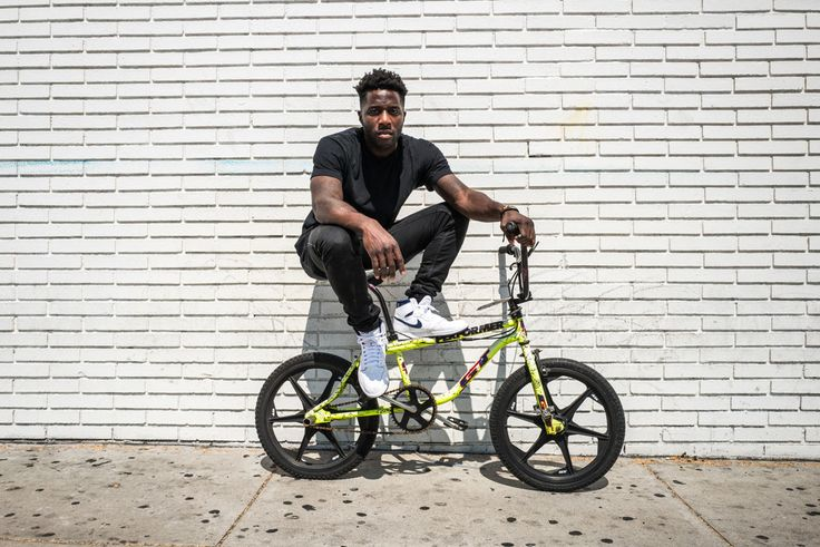 In this Friday Five, celebrity BMX pro Nigel Sylvester shares some of his favorite things, including music, sneakers, food, toys, and places to bike.