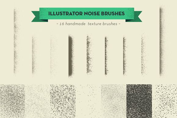 Check out handmade texture vector brushes by spacelab on Creative Market