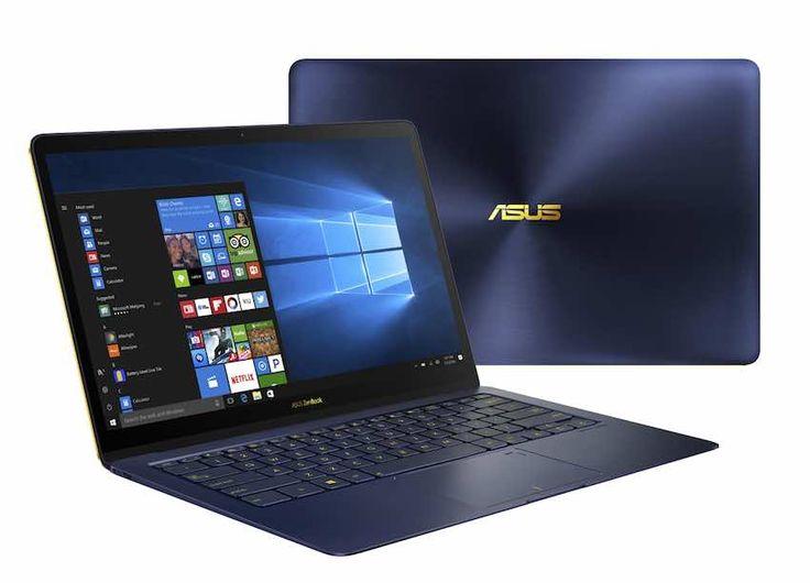 ZenBook 3 Deluxe tiene una pantalla de 14 pulgadas y posee mayor conectividad en el tipo USB Tipo C y soporte para Thunderbolt.