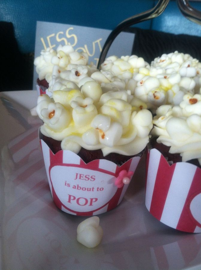 for a baby shower popcorn theme baby shower theme popcorn girl