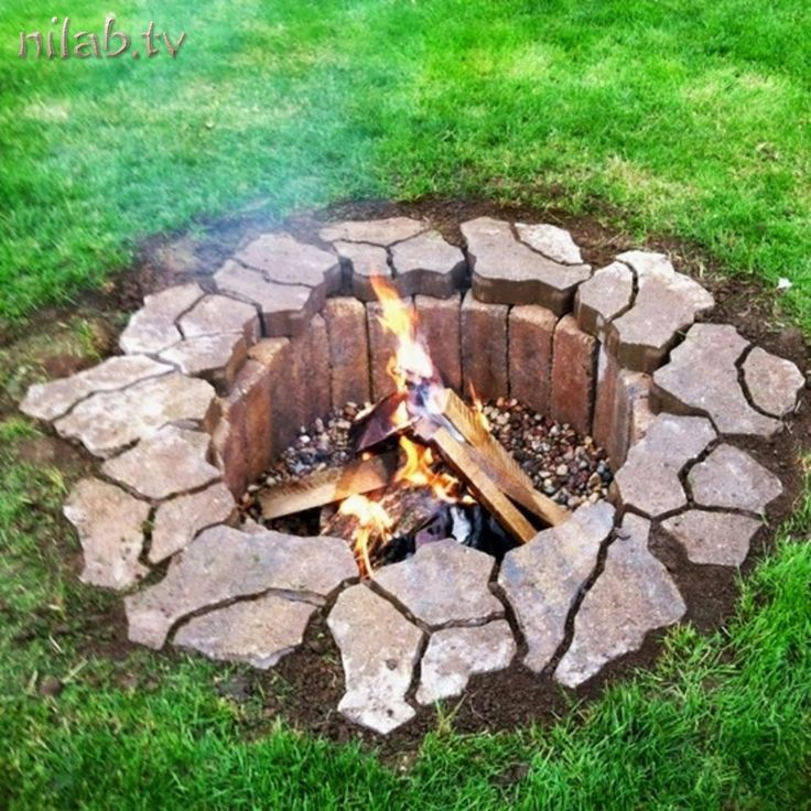 DIY Fire Pit Ideas (tutorials too!) so many good ideas...