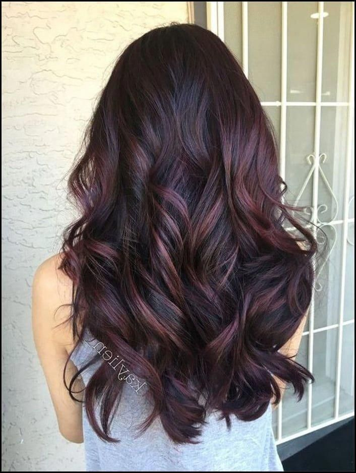 Blackberry Hair is The Unexpected Spring Hair Color Trend ...