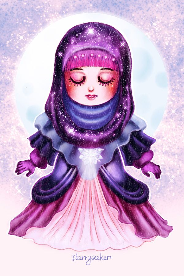 NatureHijabi 4 - starryseeker by ambientdream.deviantart.com on @DeviantArt