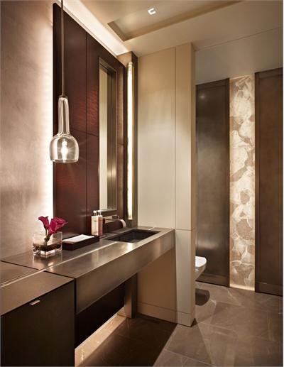 Elegant Contemporary Bathroom by Garret Werner