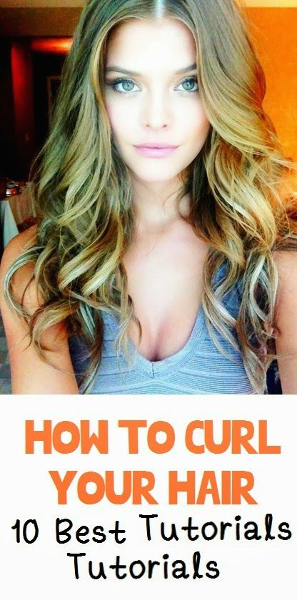 Fashion, Style And Beauty : How to Curl Your Hair: 10 Best Tutorials ever