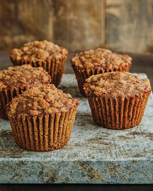Coffee Coffee Cake Muffins - These muffins make me happy because they give me an excuse to make an extra pot of coffee on the weekends, knowing I can put the leftover coffee to good use.