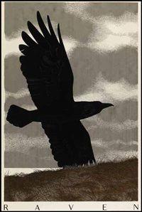 Alex Colville - Raven (1990)