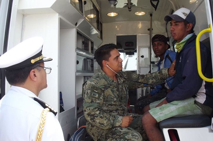 Este viernes, la Secretaría de Marina-Armada de México a través de la Décima Zona Naval de Lázaro Cárdenas, Michoacán, en apoyo a la salvaguarda de la vida humana en la ...
