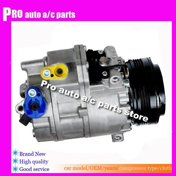High quality CSV717 AC Compressor For car BMW X5 E53 2003-2006 3.0L V6 2002 2003 2004 2005 2006 64526918000 64536942025