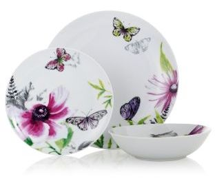 12 Piece Exotic Bloom Dinner Set from Next  sc 1 st  Pinterest & 30 best Kitchen Tableware and Dining images on Pinterest | Dining ...