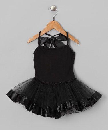 Black Bow Tutu Dress - Infant, Toddler  Girls by GabiCaser Kids on #zulily