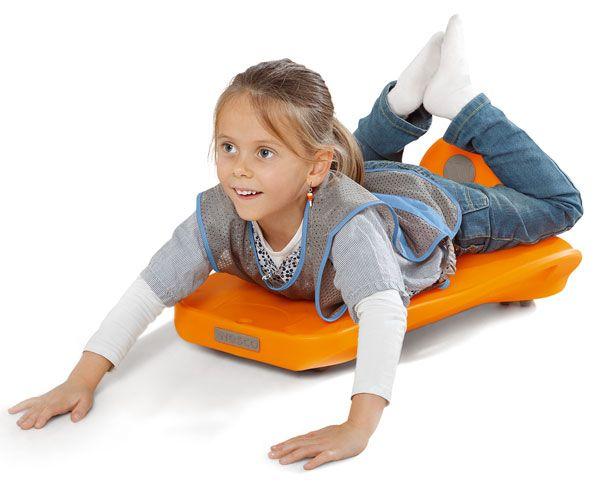 Planche de motricité pour apprendre l'équilibre à votre enfant