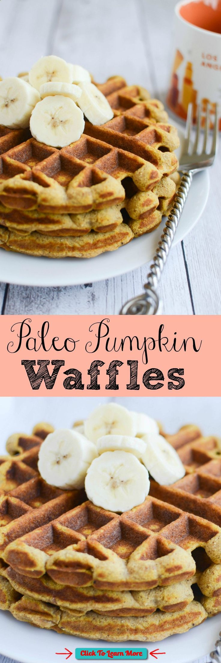 #FastestWayToLoseWeight by EATING, Click to learn more, Paleo Pumpkin Waffles - healthy and delicious waffles recipe! , #HealthyRecipes, #FitnessRecipes, #BurnFatRecipes, #WeightLossRecipes, #WeightLossDiets