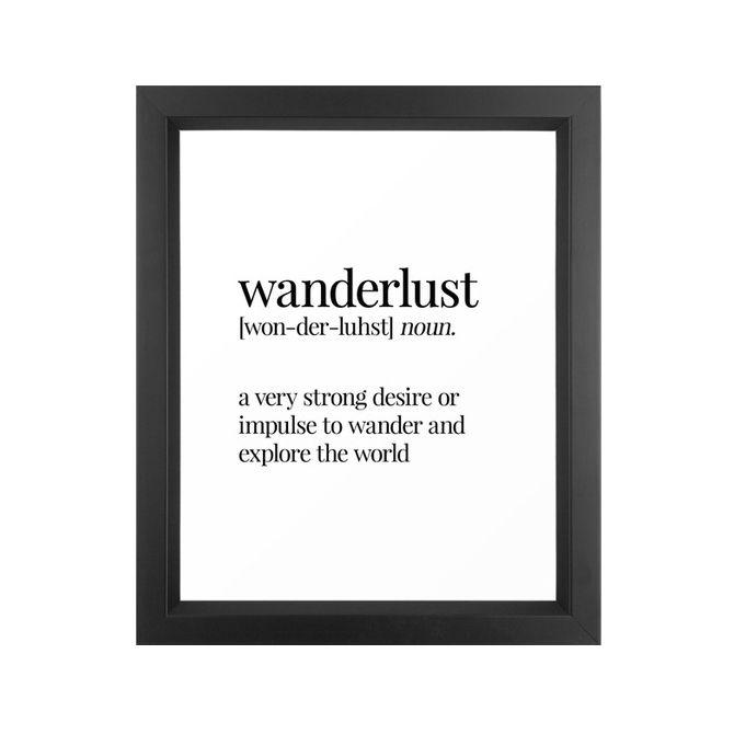 Stunning wanderlust art print dotandbocom with maison du monde promo - Frais de port mon album photo ...