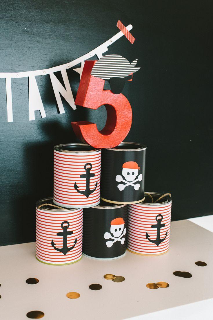 Hisst die Segel! Kindergeburtstag für kleine Piraten – [eigen]art Blog
