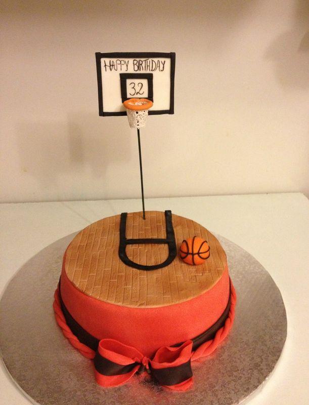 Gâteau Basket ball