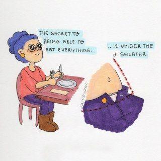 Das Geheimnis ALLES essen zu können...