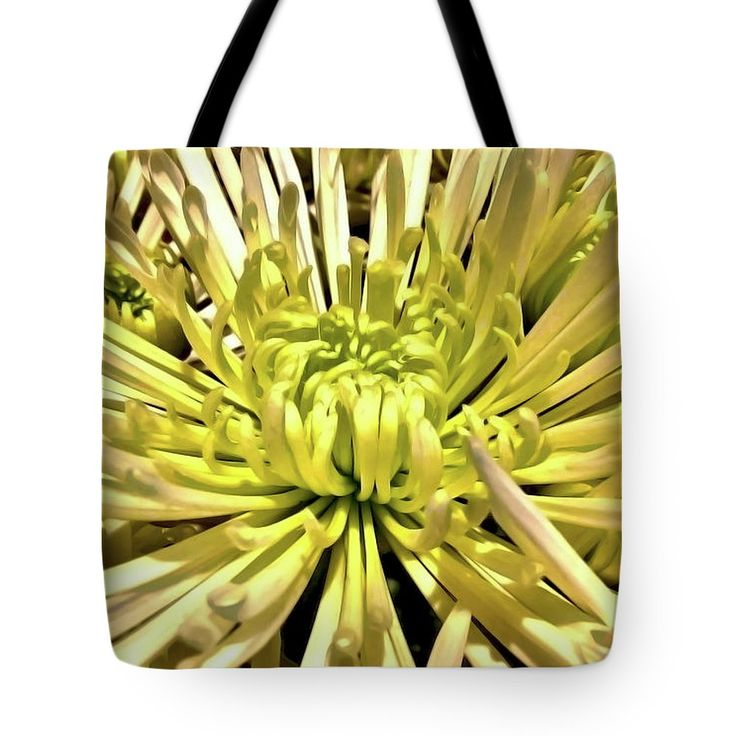 Spider Mum Tote Bag by Jasna Dragun.  The tote bag is machine washable, available in three different sizes, and includes a black strap for easy carrying on your shoulder.  All totes are available for worldwide shipping and include a money-back guarantee.