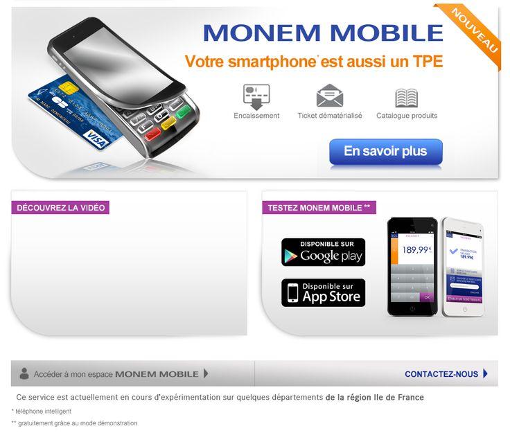 LCL Professionnels: Gestion au quotidien > Monem Mobile