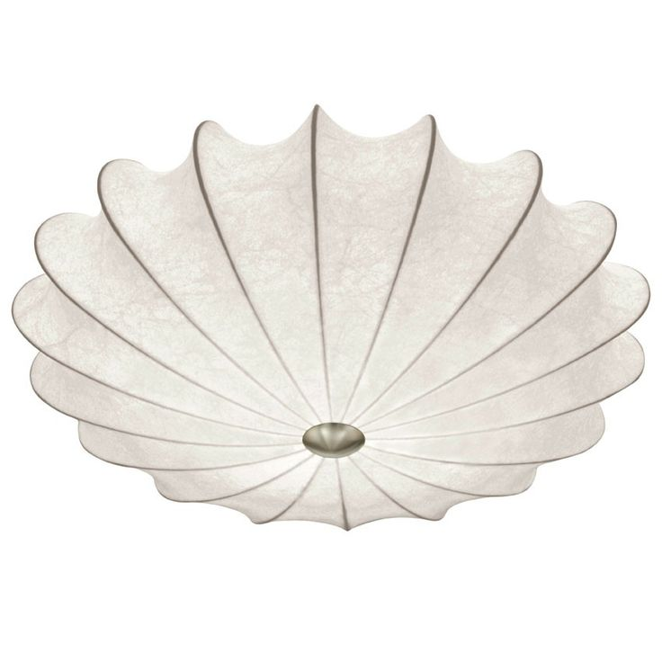 SEDILO Loftlampe - Cocoon loftlampe med hvid skærm.