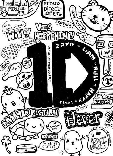 20 Most Unnecessary 'Cute' One Direction Drawings   SMOSH