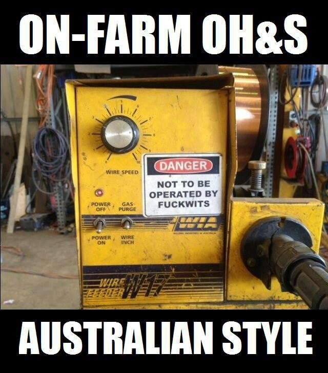 Meanwhile in Australia -- how unlike the idiocy we have in the USA...