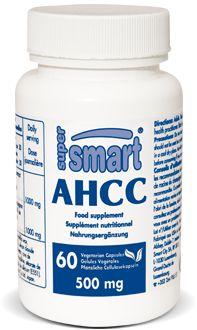 AHCC 500 mg -  L'Active Hexose Correlated Compound (AHCC) est le supplément nutritionnel immunostimulant le plus utilisé au Japon. Nous estimons qu'il s'agit du produit le mieux validé au monde dans sa catégorie.