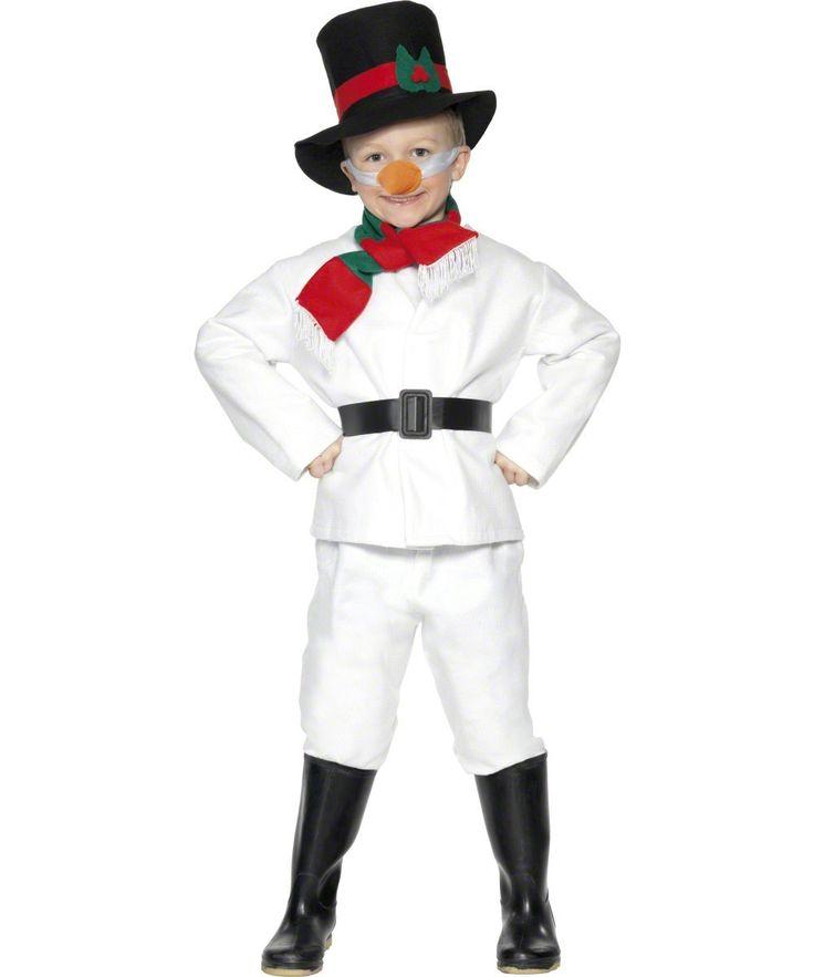 Disfraz infantil de muñeco de nieve para Navidad : Vegaoo, compra de Disfraces niños. Disponible en www.vegaoo.es