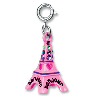 A bit of Paris around her wrist: add this charm to any Charm It! bracelet or necklace.