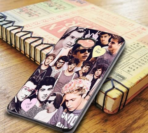 One Direction 1d Collage HTC One M7 Case