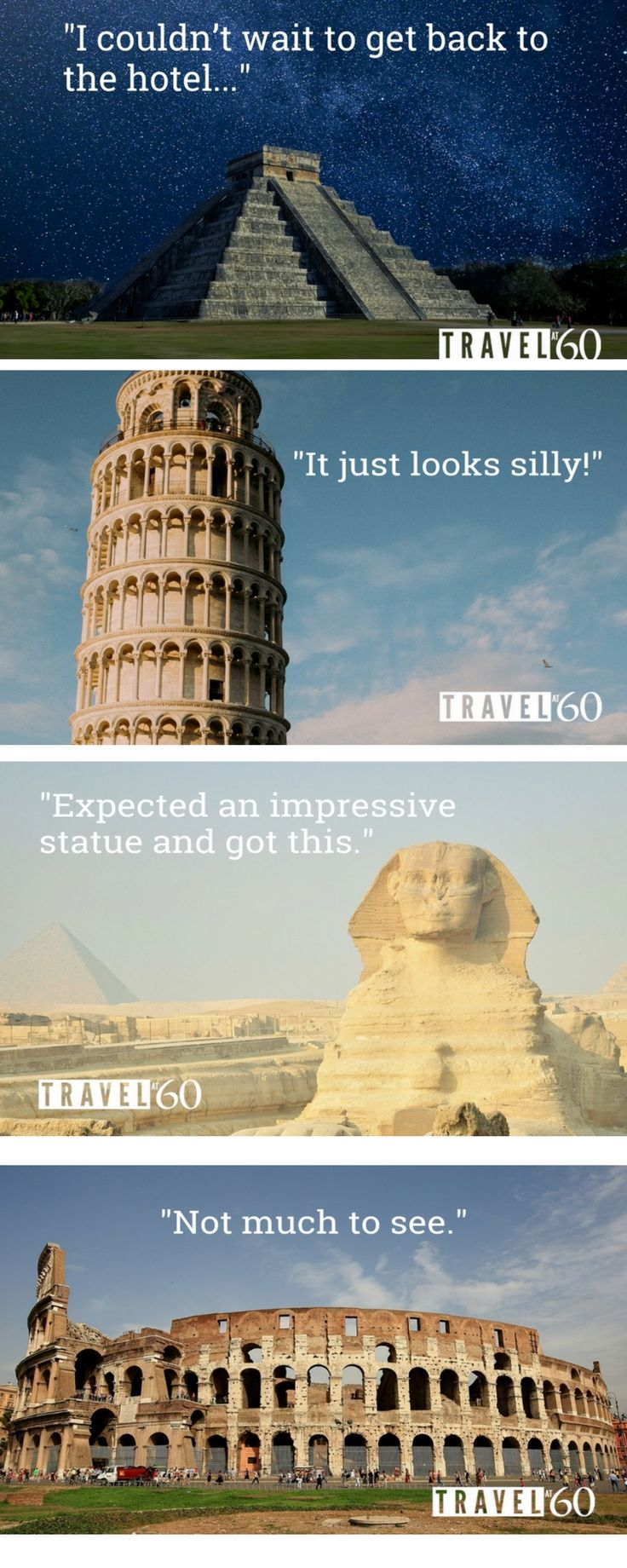 The grumpiest reviews of famous travel attractions