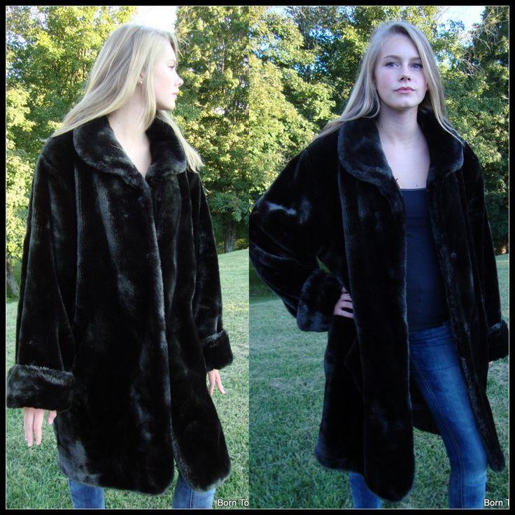 102 best vintage coats and furs images on Pinterest | Furs, Faux ...