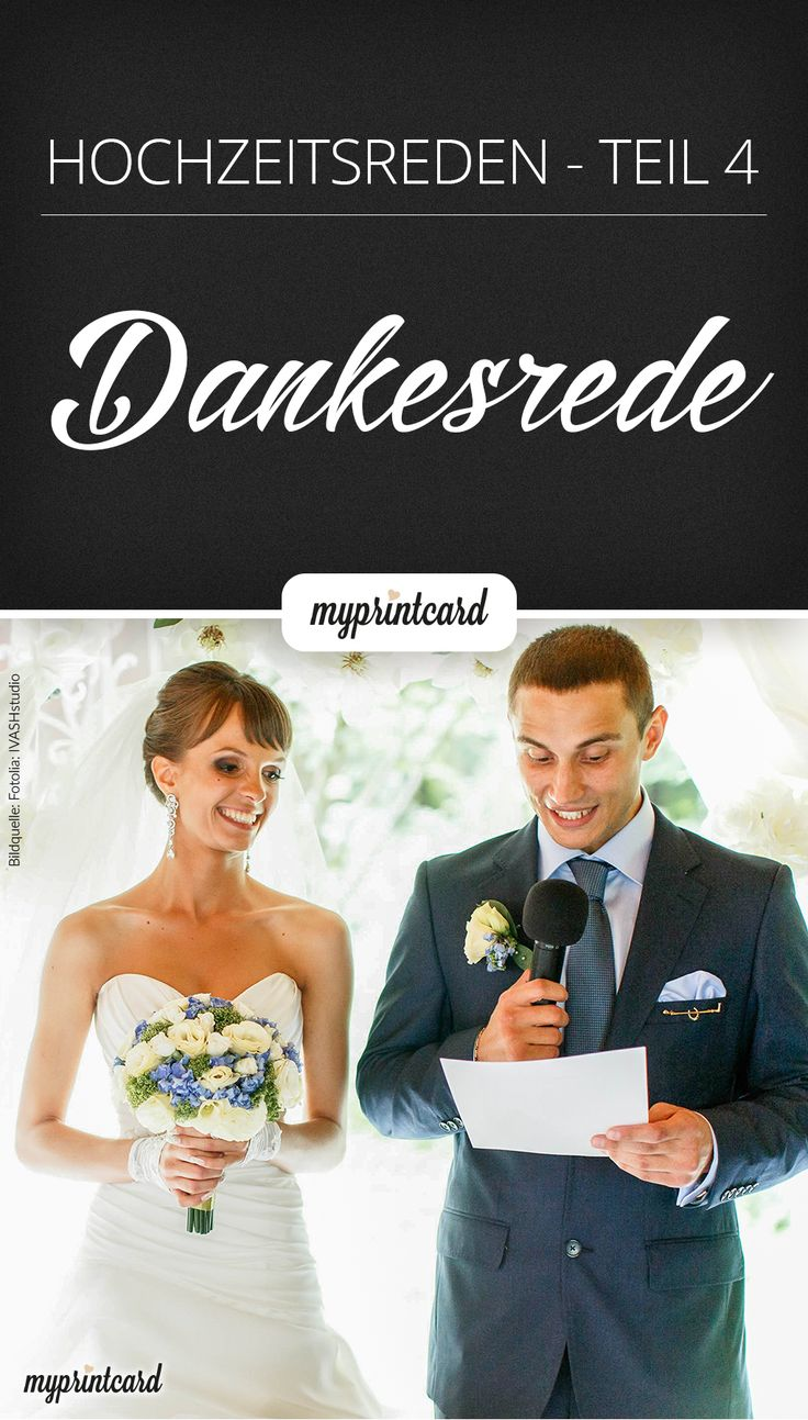 Hochzeitsreden – Eine Dankesrede mit Witz und Charme