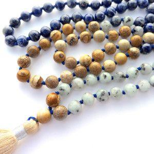 the artist mala beads #malabeads #malanecklace #prayerbeads
