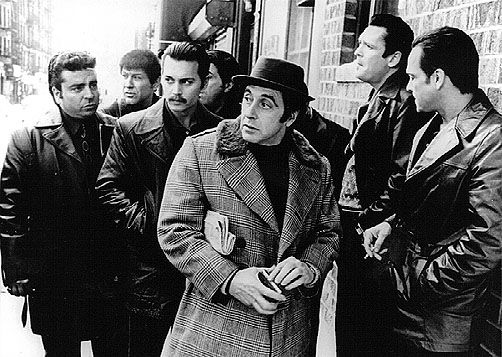 """A friend of mine means that you're with me, a friend of ours means you're one of us"" - Lefty (Al Pacino) - Donnie Brasco"