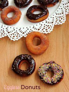 Priya's Versatile Recipes: Eggless Donuts