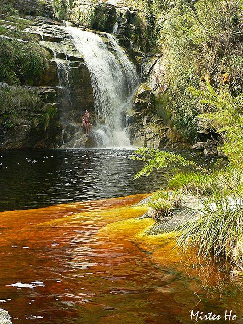 Cachoeira dos macacos, Ibitipoca, Minas Gerais, Brazil