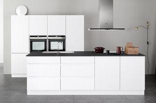 Linea white keuken minimalistisch en doordacht kvik my kitchen pinterest - Keuken minimalistisch design ...