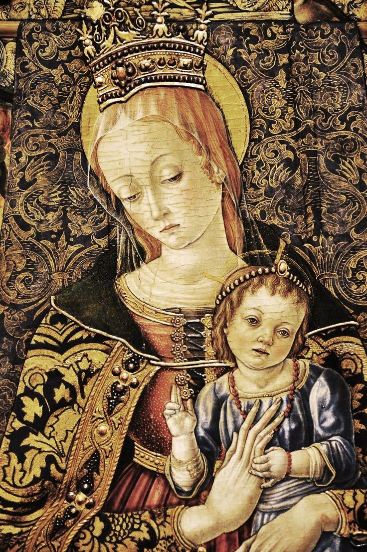 Vittorio Crivelli (Italian artist, c 1440-1501) Madonna and Child