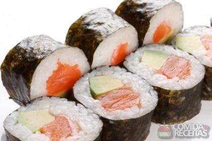 Receita de Sushi em receitas de peixes, veja essa e outras receitas aqui!
