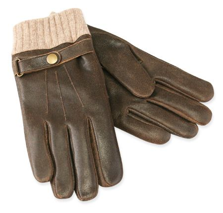 Premium Mens Lambskin Flight Gloves with Cashmere Lining ($89.95)