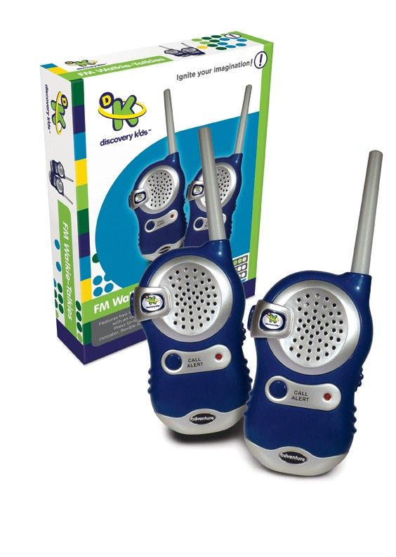 Discovery Kids - FM Walkie Talkies  My kids would have so much fun with these! #pintowin #entropywishlist