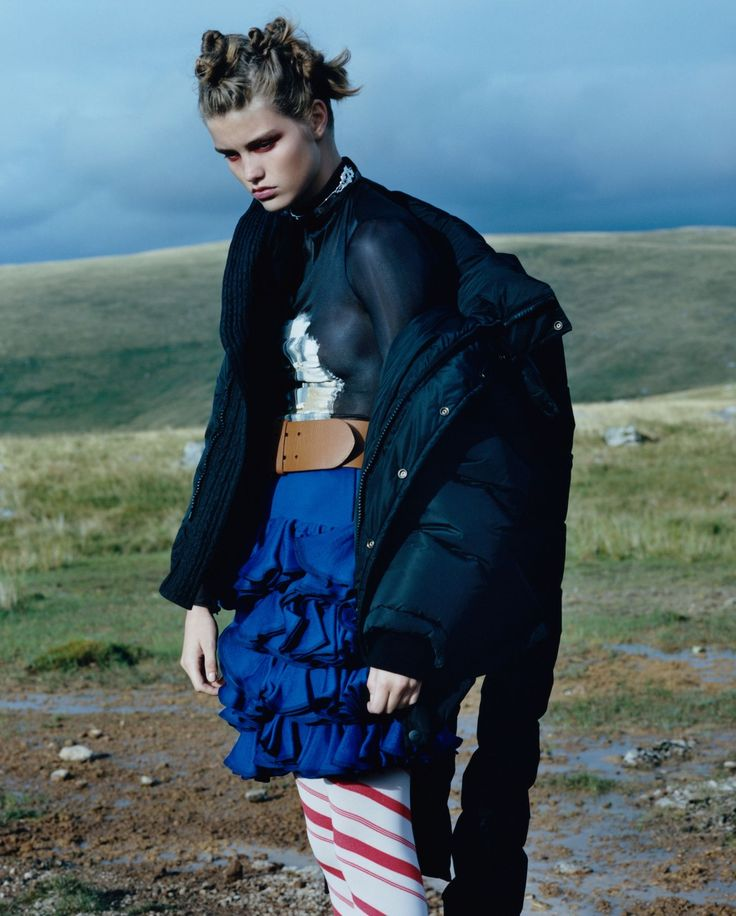 Le Jour D'Après Publication: Le Monde M Magazine September 2016 Model: Luna Bijl Photographer: Oliver Hadlee-Pearch Fashion Editor: Julia Sarr-Jamois Hair: Cyndia Harvey Make Up: Cyndia Harvey