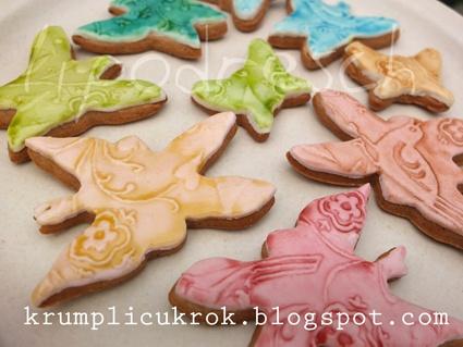 butterfly vintage cookies