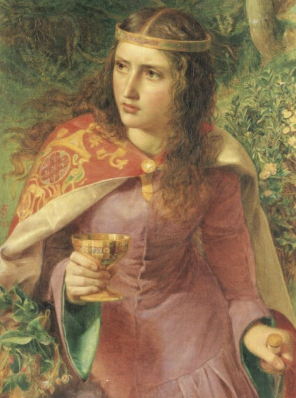 Queen Eleanor  by Anthony Frederick Sandys (ARC)