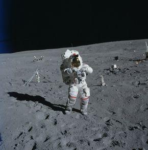 Apollo 16 astronaut John Young