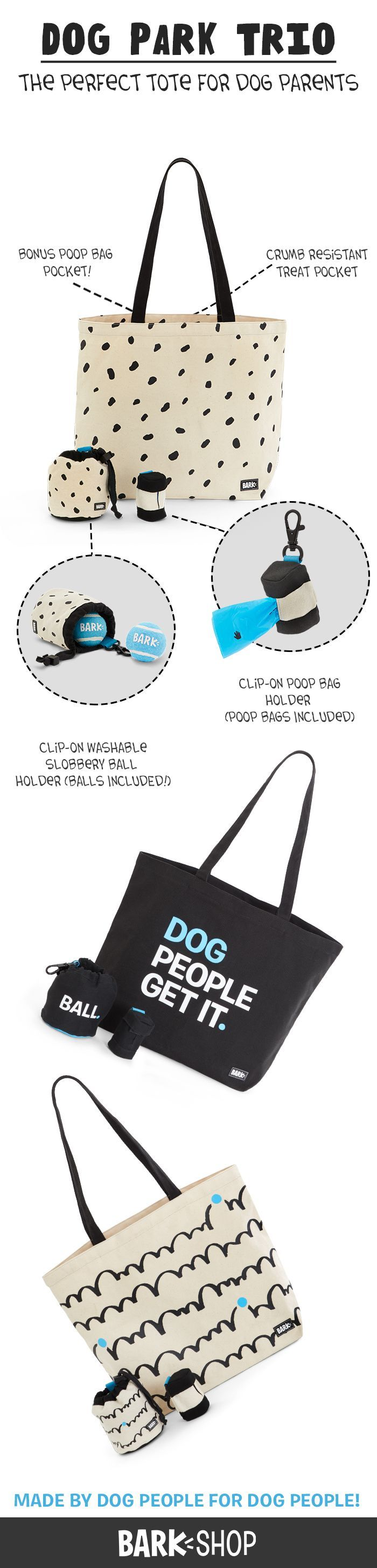 This trio was made with dog people in mind! It'll make your life SO. MUCH. EASIER.